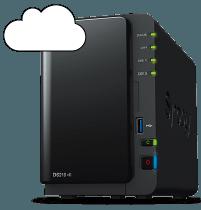 NAS hosting backup